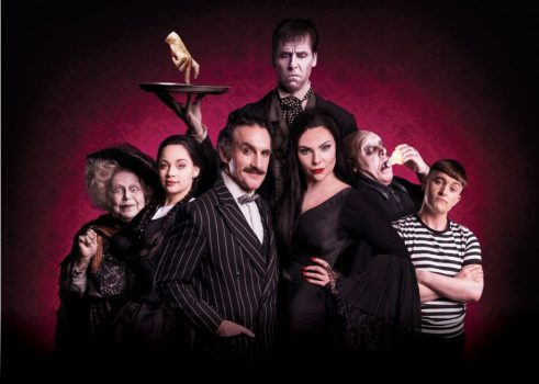 Valda-Aviks-Carrie-Hope-Fletcher-Cameron-Blakely-Dickon-Gough-Samantha-Womack-Les-Dennis-Grant-McIntyre-in-THE-ADDAMS-FAMILY-credit-Matt-Martin-1024x730